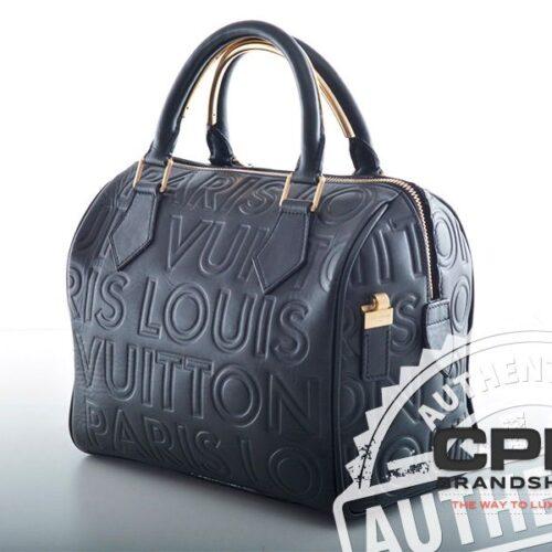 "Louis Vuitton Speedy 25 ""Black Cube""-0"