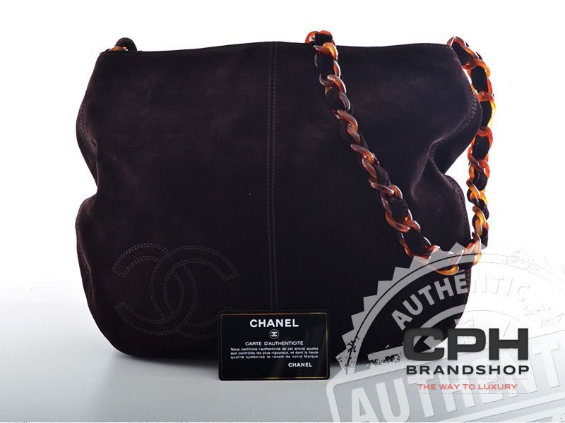Chanel Tote i ruskind-0