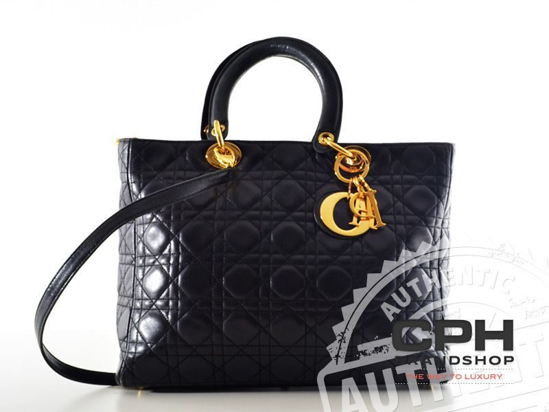 Christian Dior Cannage Tote-0