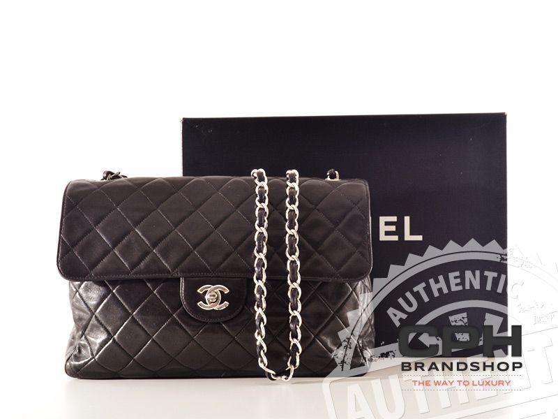 Chanel Vintage Classic Jumbo Flap Bag-0