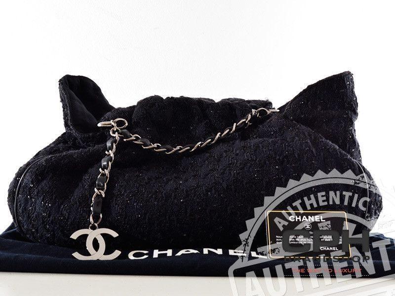 Chanel Tweet Boucle Tote taske-0